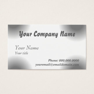 Business Card The Increase Saturation Black Effect