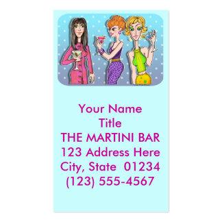 Business Card - Three Martini Divas