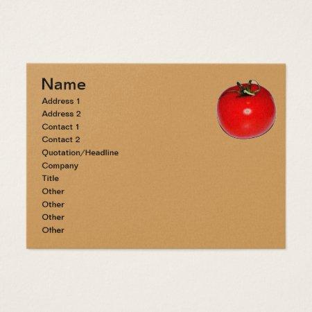 Business Card  Tomato Design