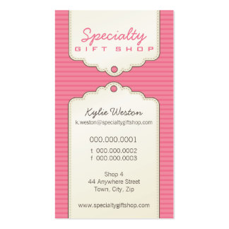 BUSINESS CARD :: trendy gifttag P8