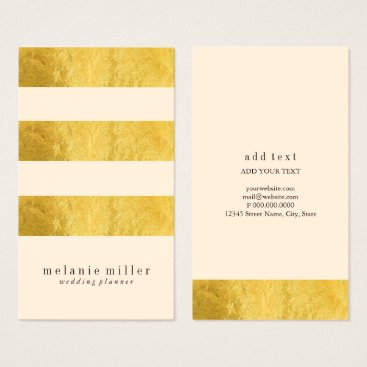 Professional Business Business Card - Trinity Foiled Peach