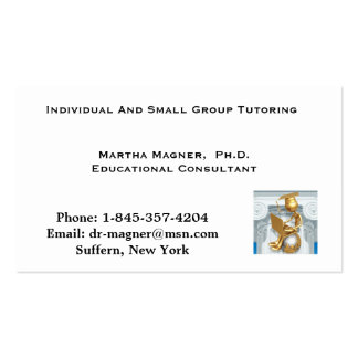 Business Card Tutoring