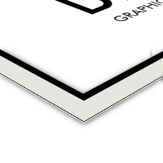 BUSINESS CARD ULTRA THICK EXAMPLE