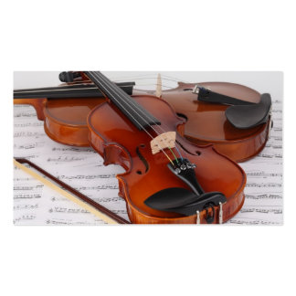 Business Card: Violin Lessons