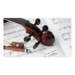 Business Card: Violin Lessons Double-Sided Standard Business Cards (Pack Of 100)