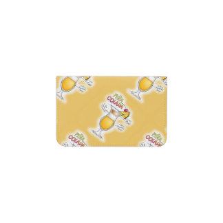 BUSINESS CARD WALLET - PINA COLADA RECIPE ART BUSINESS CARD HOLDER