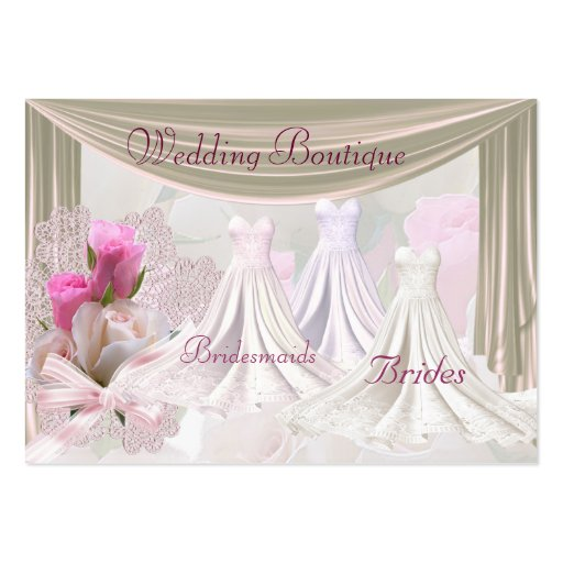 Business Card Wedding Dresses Boutique