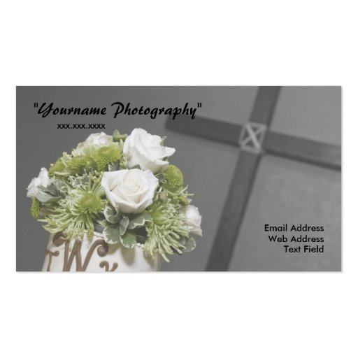 Business card wedding photography business card zazzle for Wedding photography business cards
