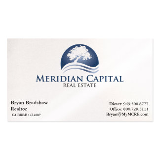 Business Card - White Background