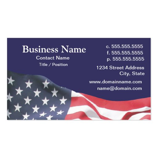 American flag business card templates bizcardstudio business card with american flag 2 colourmoves