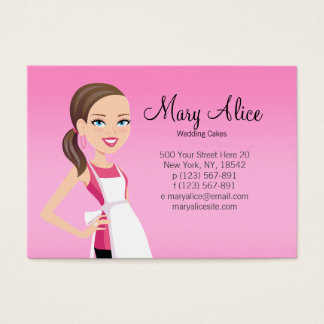 Business Card with Character - Culinary 2