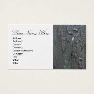 Business Card with Environmental Concerns
