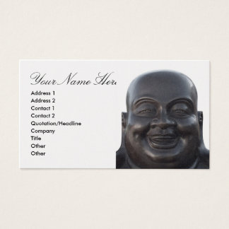 Business Card with Head of Buddha