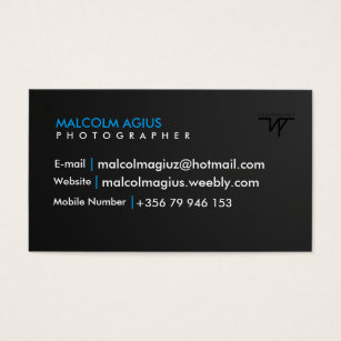 Watermark business cards templates zazzle business card with your own watermark colourmoves Images
