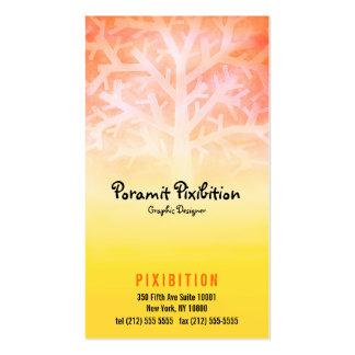 Business Card (Yellow Tree)