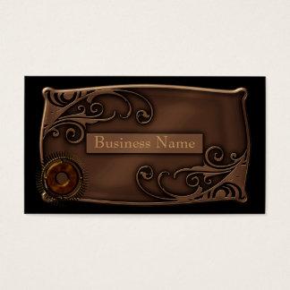 Business Card Zizzago Steampunk Design