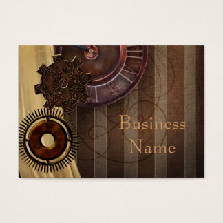 Business Card Zizzago Steampunk Design