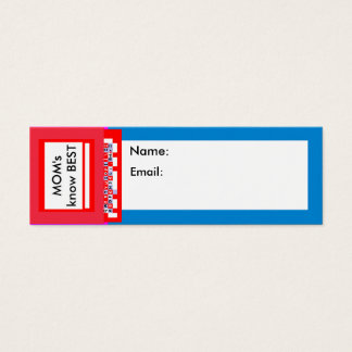 "Business Cards 3"" x 1"" Pack 20 The MUSEUM Zazzle"