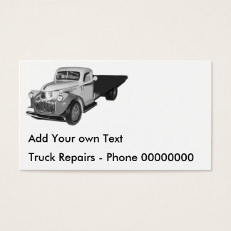 Business Cards - Add your own Text, 1941 Chevrolet