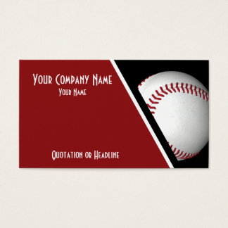 Business Cards Baseball