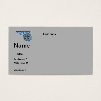 Business Cards Basketball Design by CREATIVEforBUSINESS at Zazzle