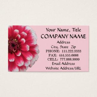 Business Cards - BiColor Zinnia