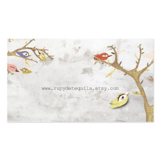 Business Cards Birds in a Tree