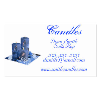 Business Cards Candle Sells