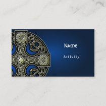 business cards Celtic cross