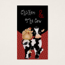 Business Cards :: Chicken & The Cow Country
