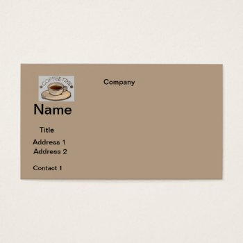 Business Cards  Coffee Design by CREATIVEforBUSINESS at Zazzle