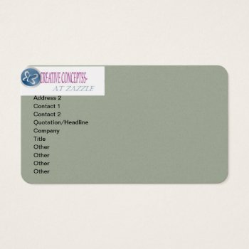 Business Cards Create Your Own Personal Or Busines by CREATIVEforBUSINESS at Zazzle