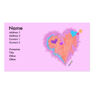 BUSINESS CARDS - Cross My Heart