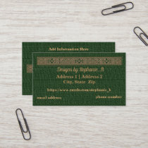 Business Cards - Customize - Celtic Knot