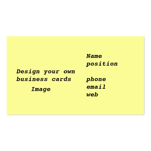 Business cards design your own zazzle for Zazzle business card