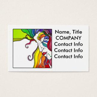 BUSINESS CARDS Electra Pop Art Diva