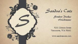 Vancouver business cards zazzle business cards elegant classy floral colourmoves