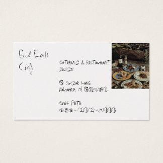 Business Cards Food and Beverage