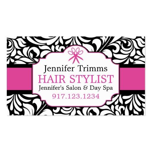 Business Cards For Hair Salon | Beauty School