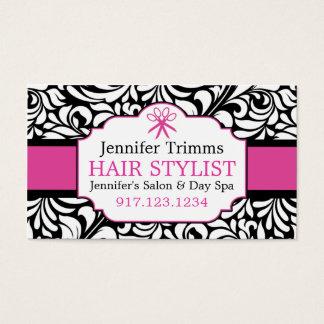 Business Cards For Hair Salon   Beauty School