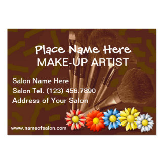 Business Cards For Make-Up Artists