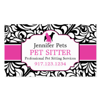Business Cards For Pet Sitters | Dog Walkers