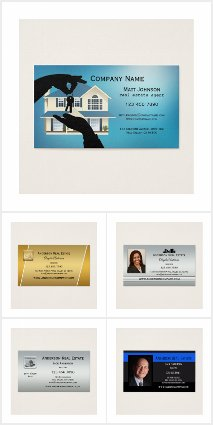 Business Cards for Real Estate Professionals