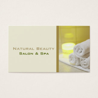 Business Cards For Spa And Salon