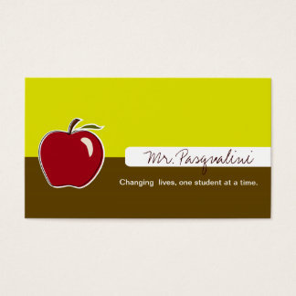 Business Cards for Teachers