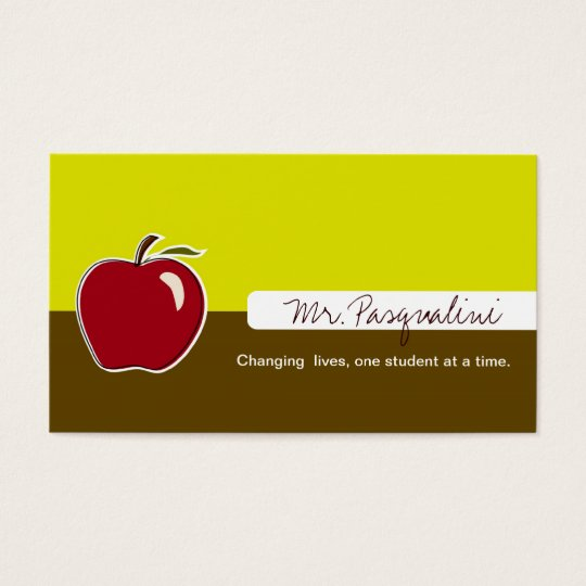Business Cards for Teachers
