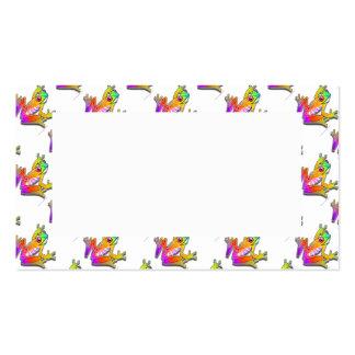 BUSINESS CARDS - FROG POP ART