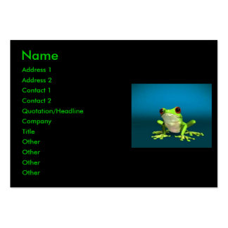 Business cards frogs