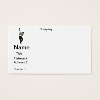 Business Cards  Golf Pro  Design by CREATIVEforBUSINESS at Zazzle