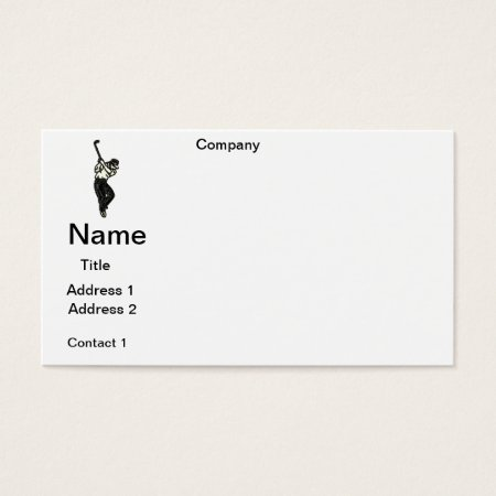 Business Cards  Golf Pro  Design